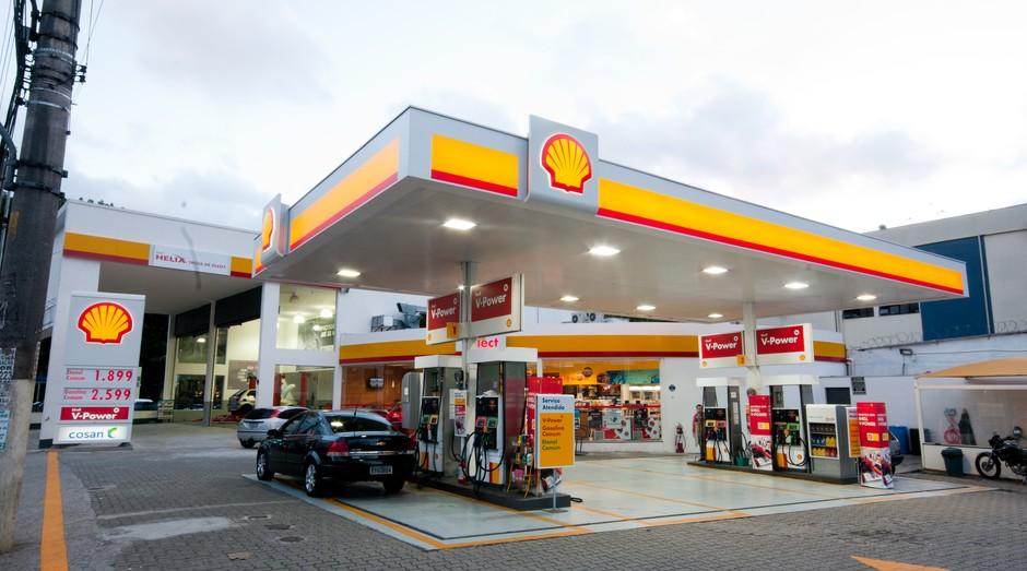 Unidade de posto Shell com loja Select (Foto: Divulgação)