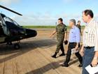 Governador de MS sobrevoa região sul atingida por temporais