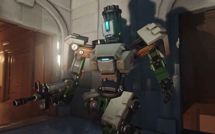 Bastion é uma verdadeira máquina (Foto: Divulgação/Blizzard)