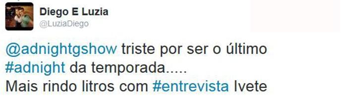 Público adorou participação de Ivete no Adnight (Foto: Reprodução)