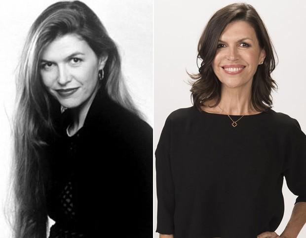 Finola Hughes foi Carol Russo, a segunda mulher de Nick Russo e madrasta de Blossom (Foto: Reprodução)