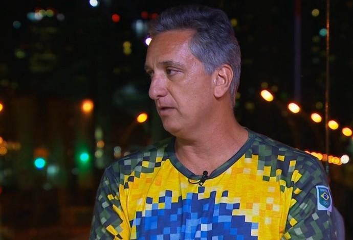 Marcus Vinícius Freire, superintendente executivo de esportes do Comitê Olímpico Brasileiro, no Conexão SporTV (Foto: Reprodução SporTV)