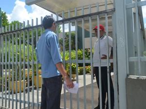 Estudante chega menos de um minuto atrasado e perde prova do Enem em Boa Vista (Foto: Valéria Oliveira/G1)