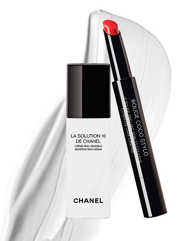 Le Rouge Coco Stylo, R$ 220 / La Solution 10, R$ 470, ambos Chanel (Foto: Divulgação / Thinkstock)