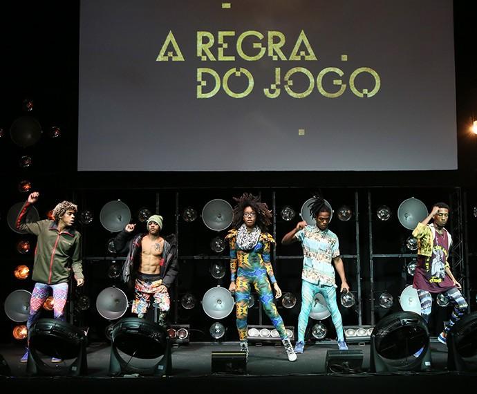 Antes da festa começar, o Dream Team do Passinho faz ensaio para o grande momento (Foto: Isabella Pinheiro/Gshow)