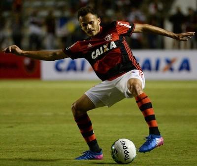 Renê fez sua estreia pelo Flamengo na noite desta quinta-feira (Foto: Staff Images/Flamengo)