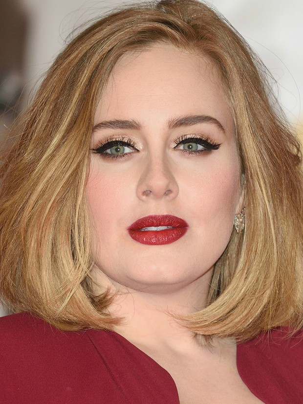 Adele no BRIT Awards (Foto: Getty Images)
