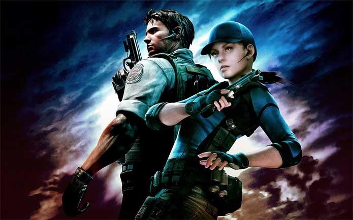 Jill e Chris em Resident Evil 5 (Foto: Divulgação/Capcom)