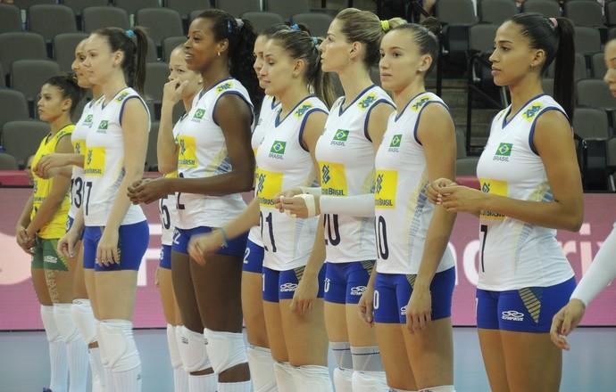 Seleção tenta terceira vitória nas finais do Grand Prix (Foto: David Abramvezt)