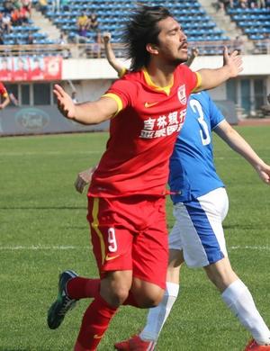 Marcelo Moreno Changchun Yatai (Foto: Reprodução/Sina.com)