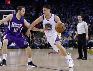 Klay Thompson Golden State Warriors x Sacramento Kings nba basquete