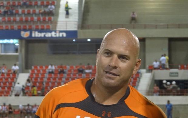 Goleiro Cristiano (Foto: Henrique Pereira /  Globoesporte.com)