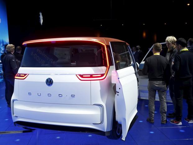 Volkswagen Budd-e Concept (Foto: REUTERS/Steve Marcus)