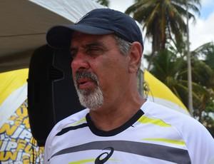 Stanley Mackenzie, diretor do handebol de areia na Confederação Brasileira de Handebol (Foto: Juliana Bandeira / GloboEsporte.com/pb)