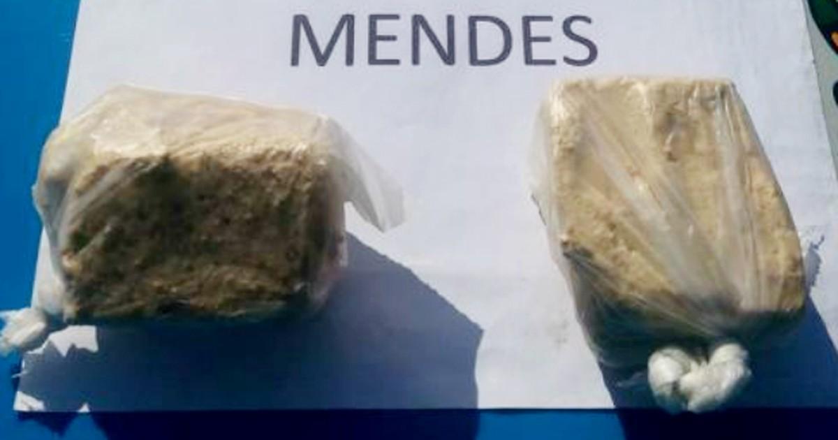Homem é preso com cocaína dentro de ônibus em Mendes, RJ - Globo.com
