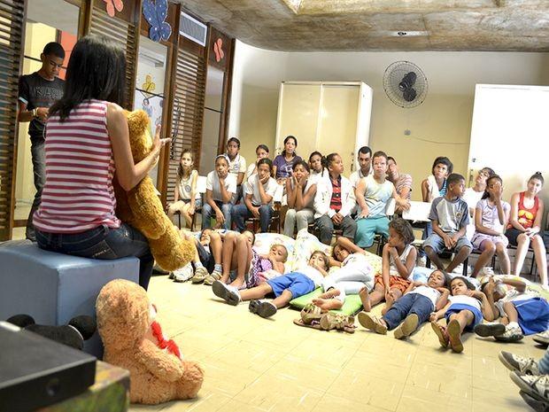 Oficinas e contações de histórias serão realizada na Biblioteca Infantil de Aracaju (Foto: Divulgação/Secult)