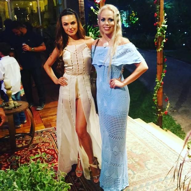 Isis Valverde e Mirella Ferraz (Foto: Reprodução / Instagram)