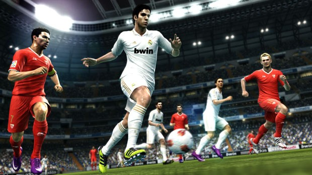 Kaká, do Real Madrid, foi mapeado para mostrar no game o seu estilo único de correr e de criar jogadas (Foto: Divulgação)