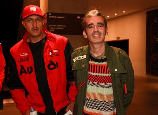 Mano Brown e Max de Castro (Foto: Marcos Ribas/Brazil News)