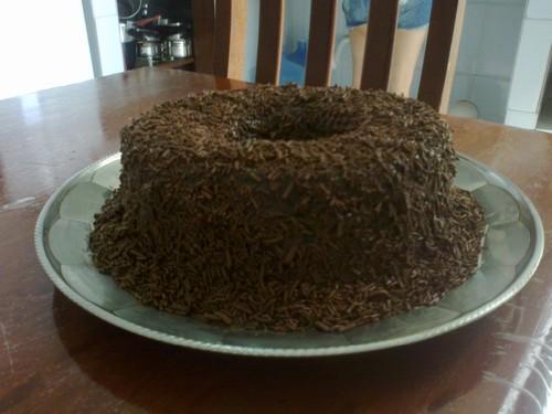 Bolo de Chocolate Fofinho e Molhado