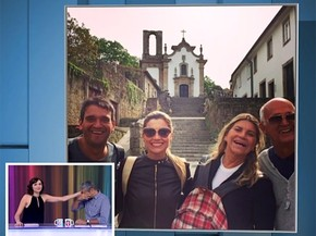 Flavia Alessandra viaja com a família para a Terra Santa (Foto: Vídeo Show / Gshow)