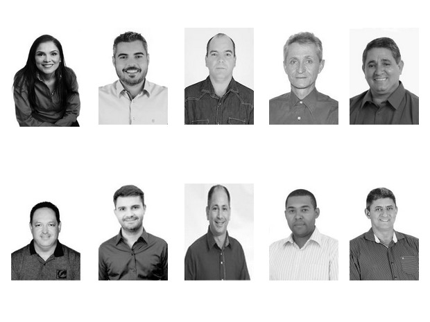 Prefeitos eleitos no Vale do Jamari de Rondônia (Foto: Arte G1)