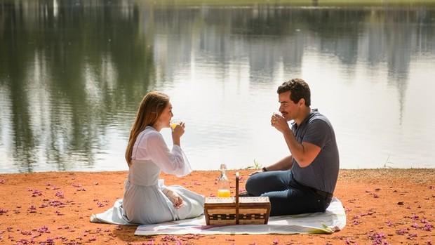 A Lei do Amor: lindos locais servem de cenário à trama  (divulgação)