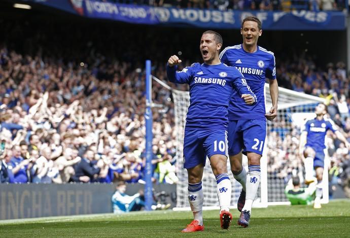 Hazard gol Chelsea (Foto: Reuters)