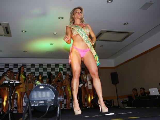 Ana Flávia, terceira colocada no  Miss Bumbum 2014 (Foto: Iwi Onodera / EGO)