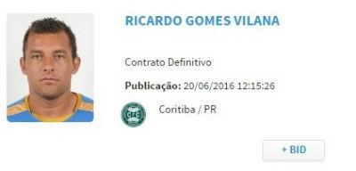 Ricardo BID Coritiba (Foto: Reprodução)