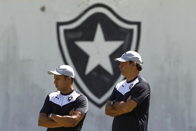 Jair Ventura e Ricardo Gomes Botafogo (Foto: Vitor Silva / SSpress / Botafogo)