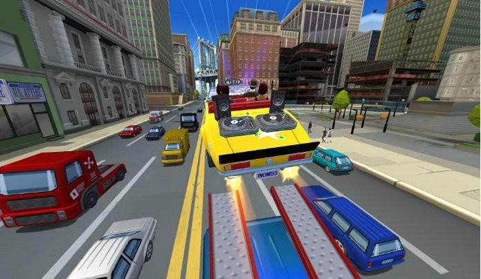 Crazy Taxi: City Rush trará nova jogabilidade específica para dispositivos móveis. (Foto: Divulgação)