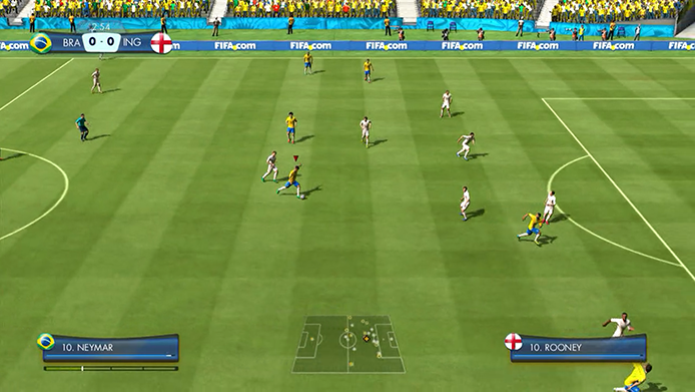 c0d73edebf Copa do Mundo FIFA Brasil 2014  demo traz seleção brasileira e ...