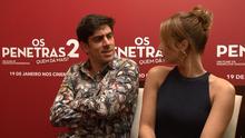 Os bastidores do filme 'Os Penetras 2', no Em Movimento (21) (Divulgação/ TV Gazeta)