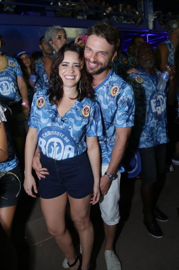 Cássio Reis e Fernanda Vasconcellos (Foto:  Marcello As Barretto / AgNews)
