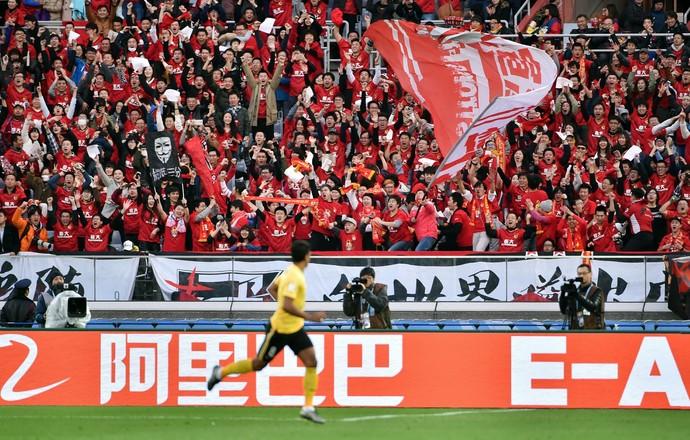 Paulinho Guangzhou Evergrande (Foto: AFP)