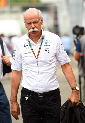 Dieter Zetsche mercedes formula 1 (Foto: Getty Images)