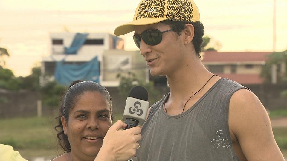 Até quem já passou pela Aldeia SOS, prestigiou o evento (Foto: Amazonas TV)