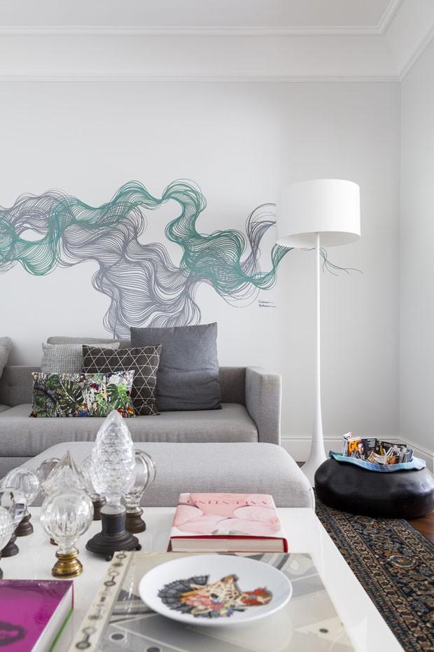 Design e arte colorem apartamento de 280 m² (Foto: Julia Ribeiro)