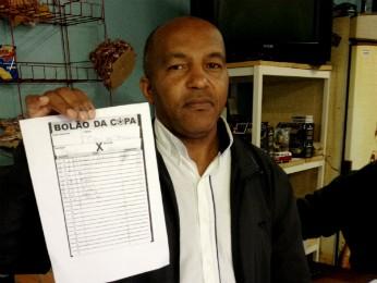 Silva foi o responsável por fazer a aposta vencedora para a colega de trabalho (Foto: Cícero Bittencourt / RPC TV)
