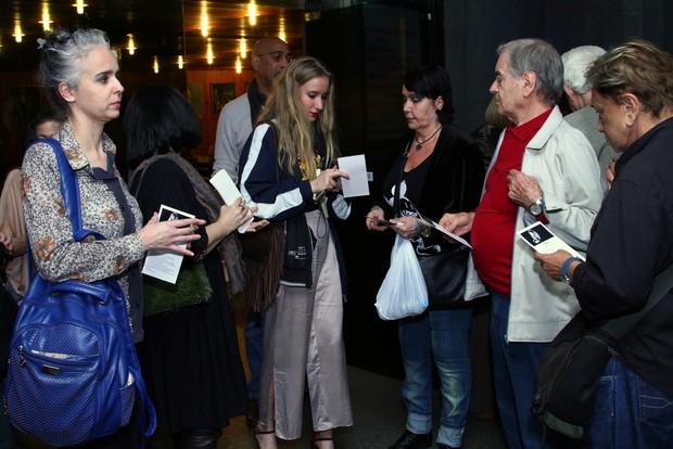 Missa de sétimo dia da Elke Maravilha  (Foto: Anderson Borde/AgNews)