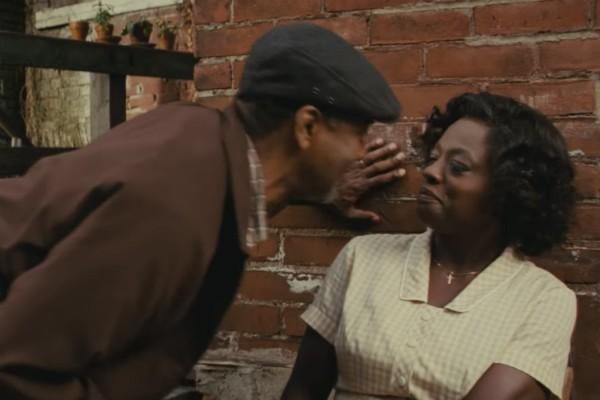 Denzel Washington e Viola Davis em cena de Um Limite Entre Nós (Foto: Reprodução)