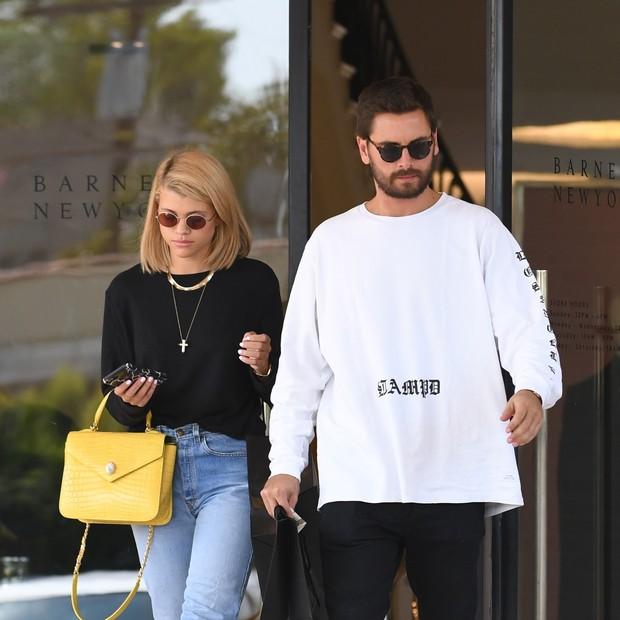 Sofia Richie e Scott Disick: novo casal? (Foto: AKM-GSI)