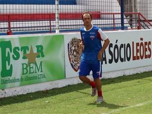 Danilo Rios se recupera de dores na coxa (Foto: Divulgação/Fortaleza EC)
