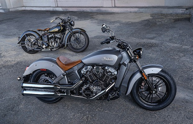 Indian Scout (Foto: Indian)- martelinhobiz