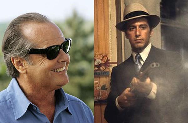 Jack Nicholson e Al Pacino (Foto: Divulgação)