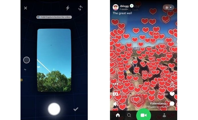 Splash, app que grava em 360 no iPhone (Foto: Reprodução/Raquel Freire)