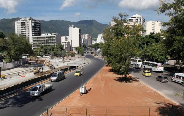 maracanã trânsito (Foto: Marcelo Carnaval/Agência O Globo)
