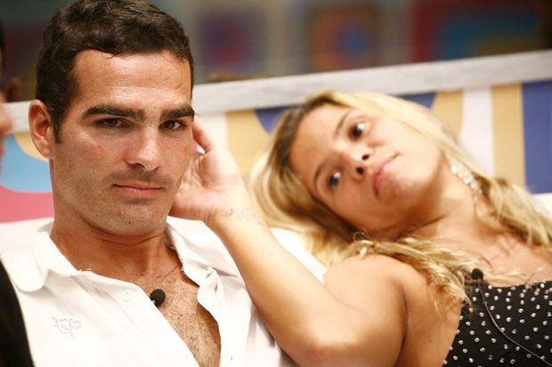 Lista - Casais que não sobreviveram ao BBB -  Milena e Ralff (Foto: TV Globo  / Fabrício Mota)