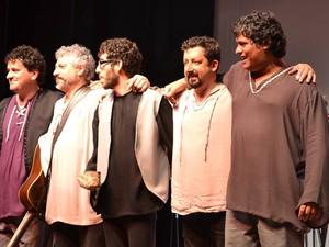 Lummen músicas medievais em Petrópolis (Foto: Paula Bolis)